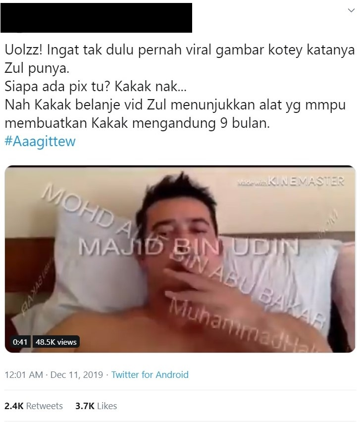 video zul ariffin