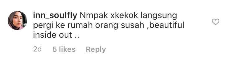 eina azman bantu orang susah