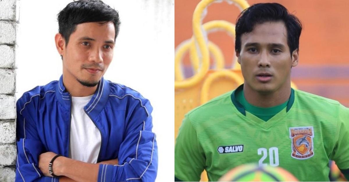 penjaga gol indonesia mirip wajah mark adam