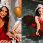 netizen kurang senang lihat penampilan nadia brian di sambutan majlis bridal shower