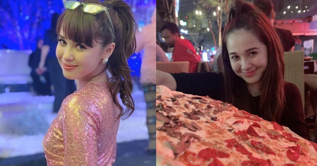 emma maembong pizza kelab malam