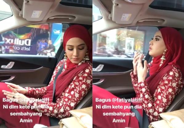 Mufti WP Jawab Isu Fathia Latiff Solat Dalam Kereta ...
