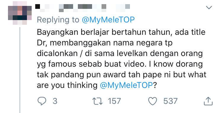 anugerah influencer meletop