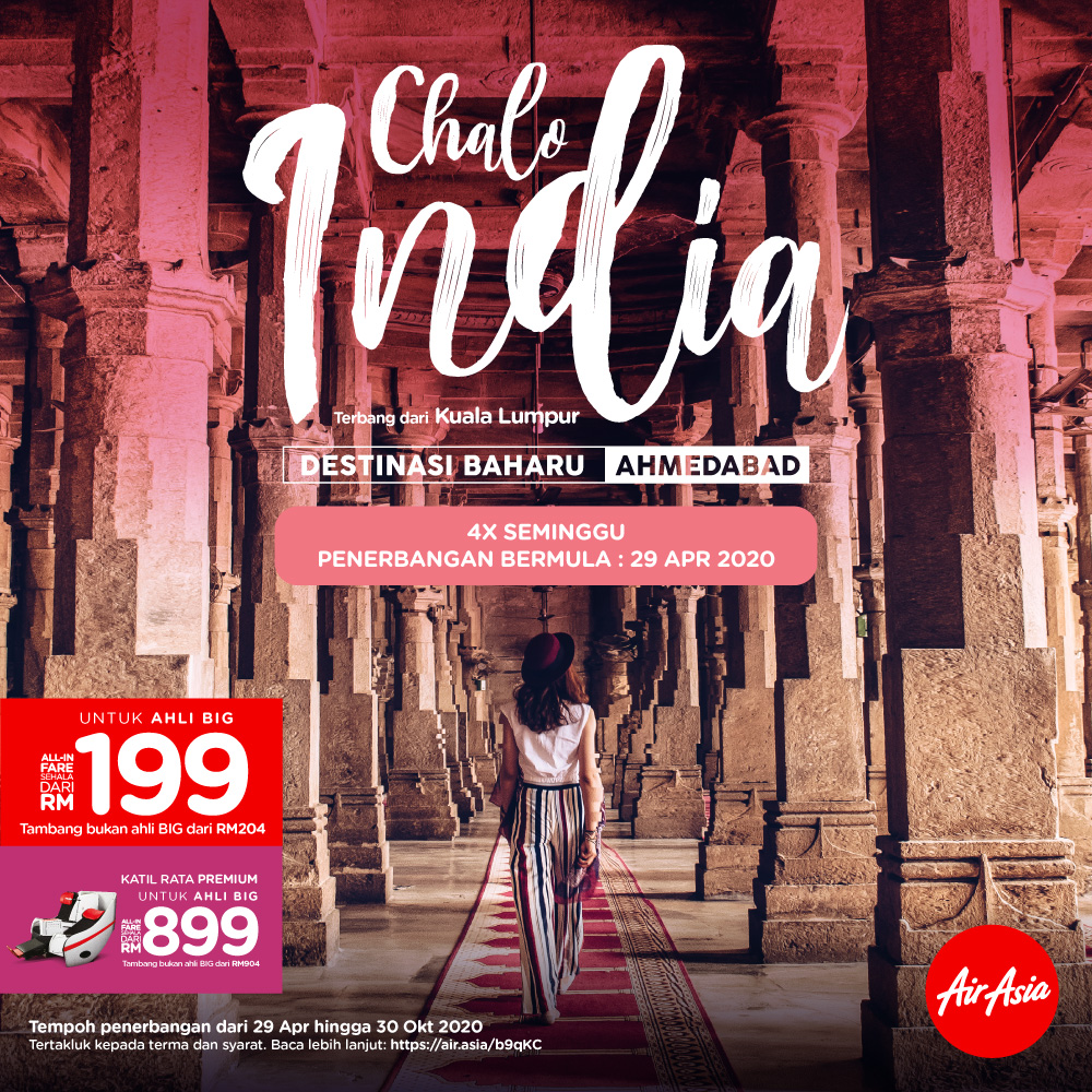 Chalo! India dengan AirAsia