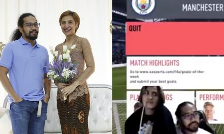 ozlynn dan johan diselar netizen