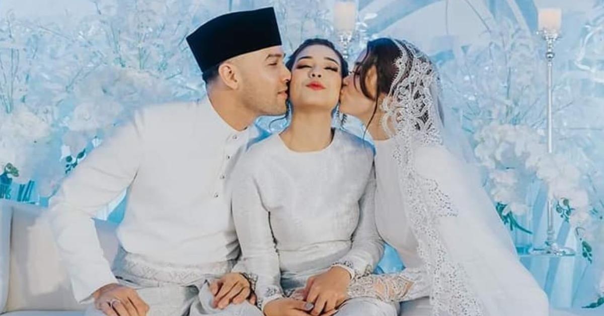 chacha maembong dicium abang ipar