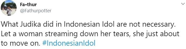 bunga citra lestari menangis indonesian idol