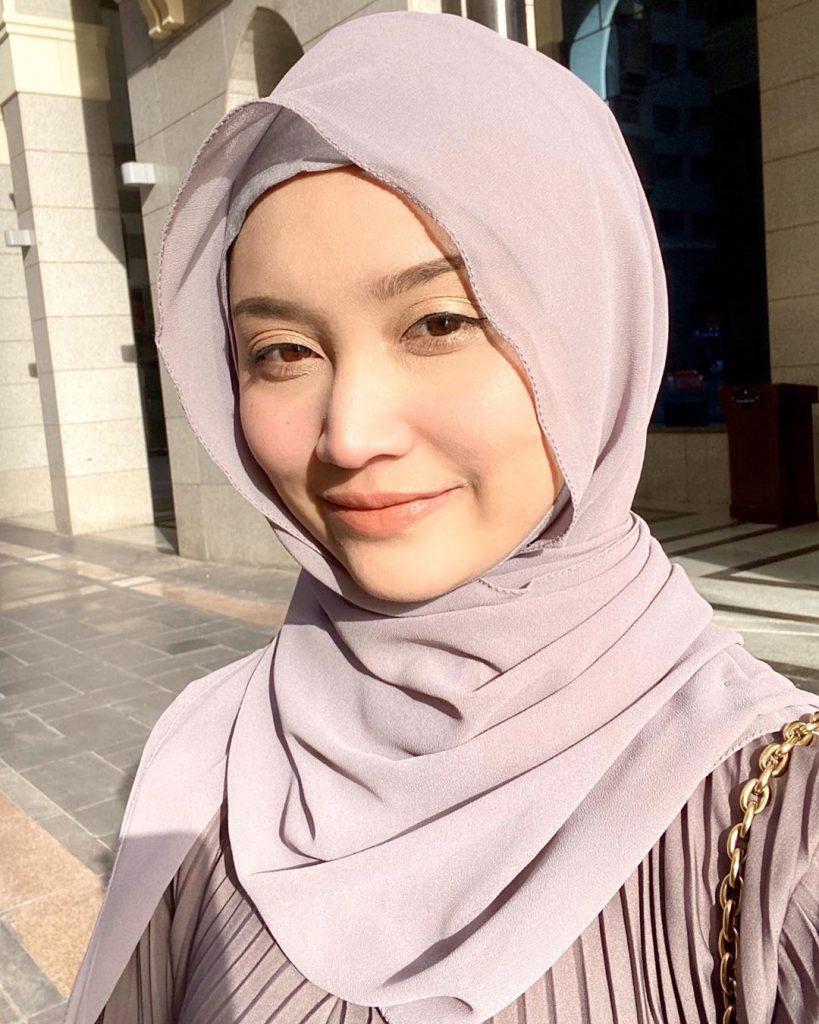 ayda jebat hijab umrah
