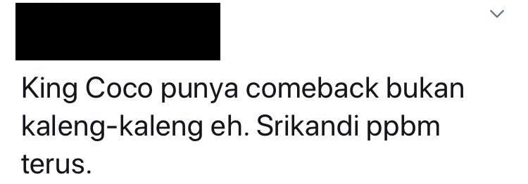 King Coco Ketua Srikandi Bersatu Bagan Serai