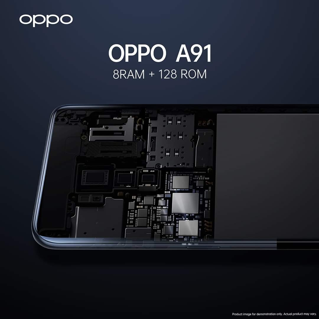 Oppo A91 Ram