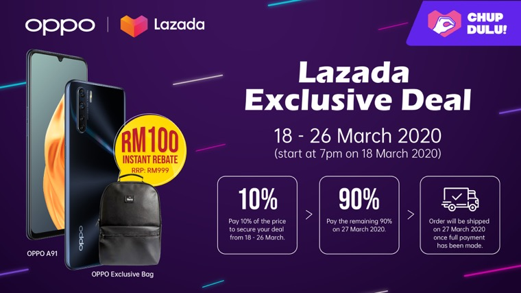 oppo lazada exclusive deal