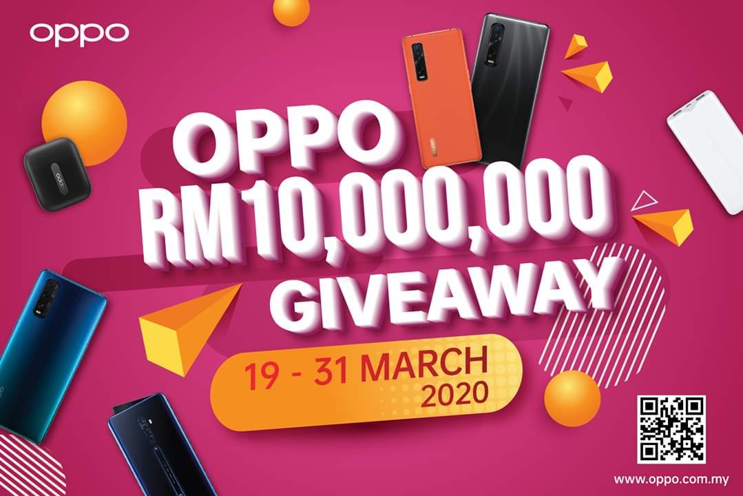 oppo giveaway