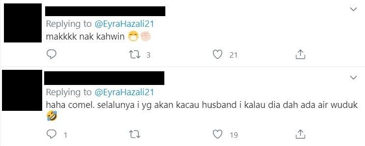 eyra hazali suami