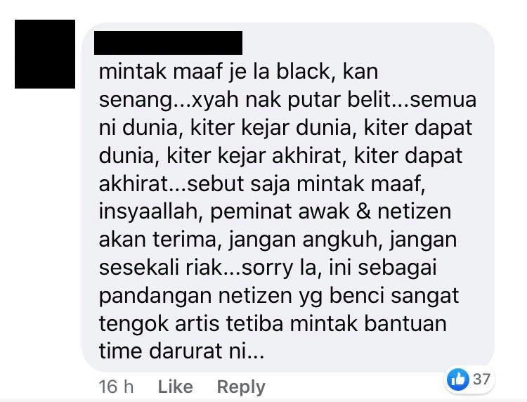black rumah sewa