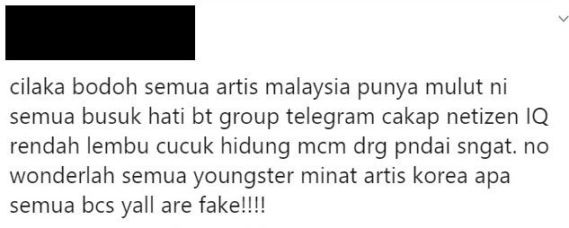 artis hina netizen iq rendah lembu