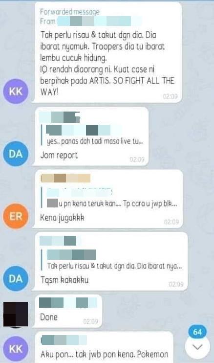 artis hina netizen lembu iq rendah