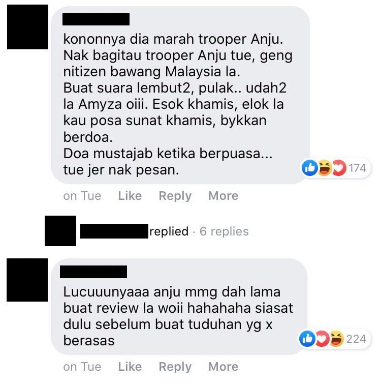 amyza aznan hina netizen