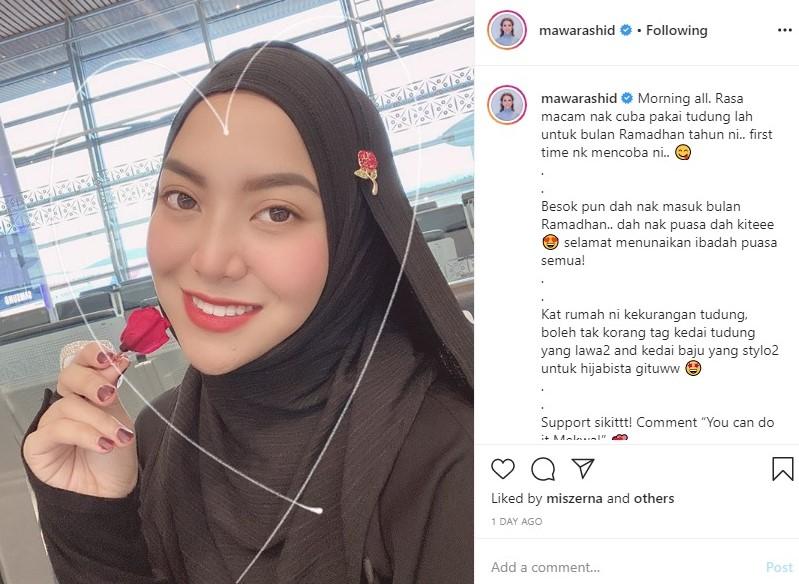 mawar rashid hijab ramadhan