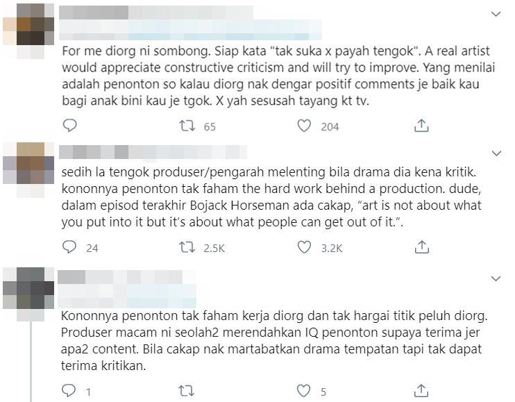 netizen kritik jawapan sheila rusly dan jinggo