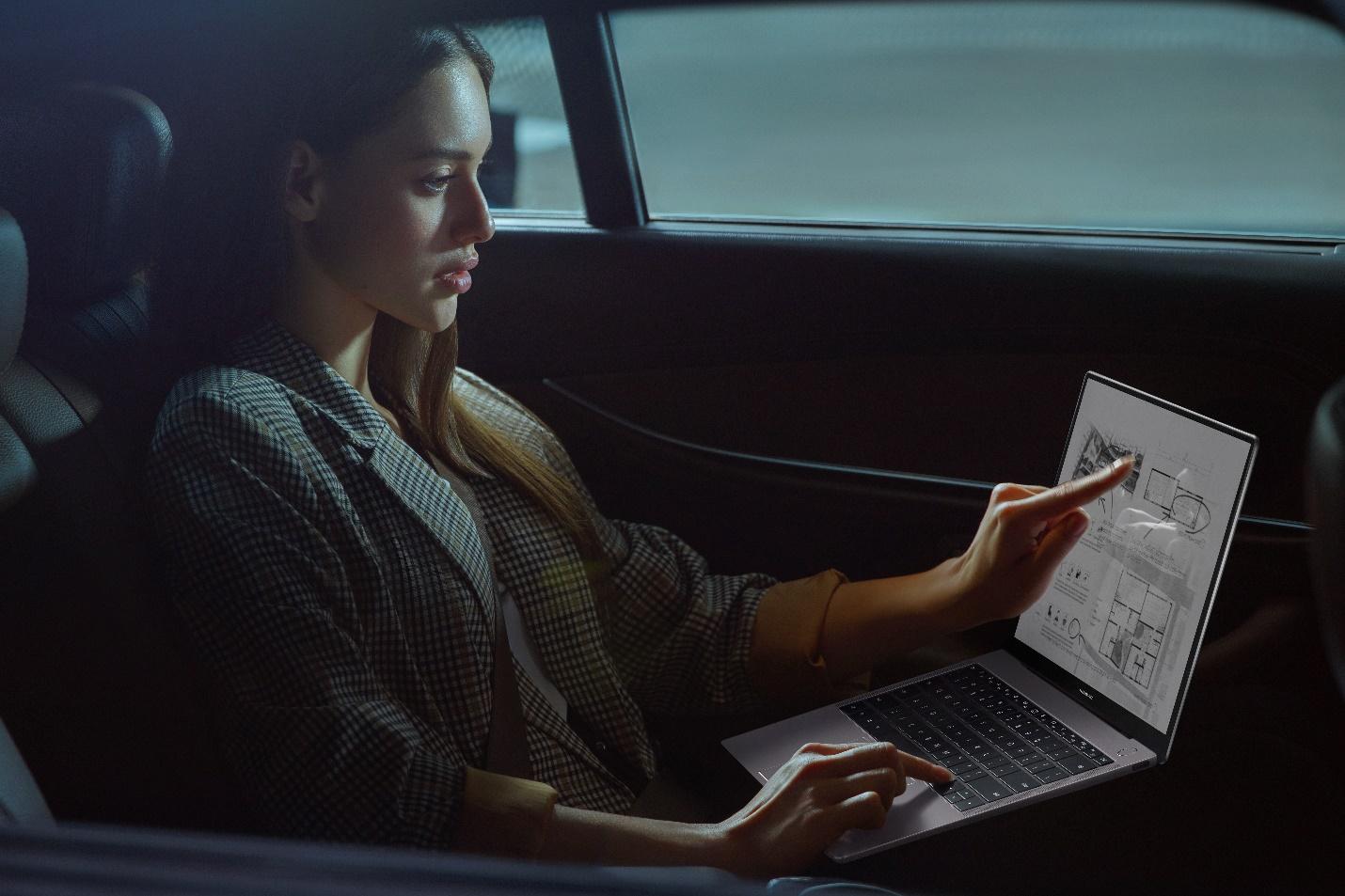 huawei matebook touch screen