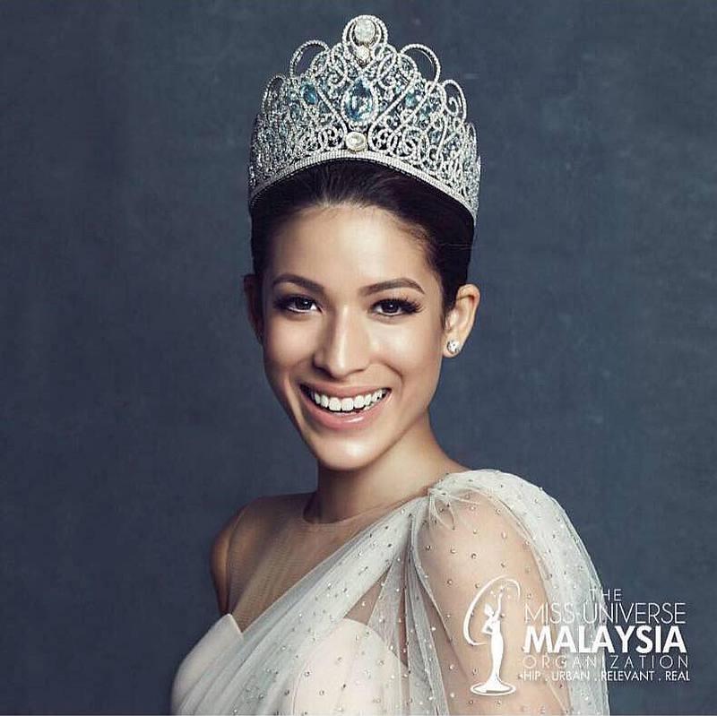 samantha miss universe malaysia 2017 rasis