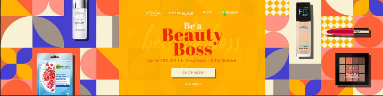 loreal be a beauty boss