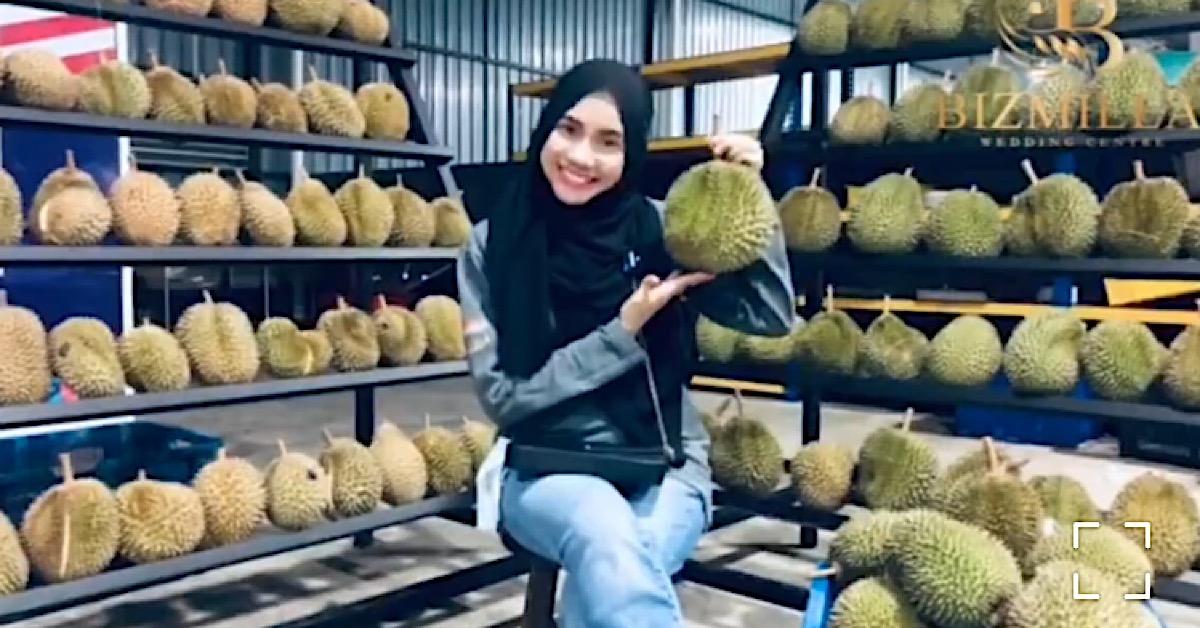 mila jirin jual durian
