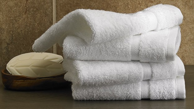 A white towel Description automatically generated