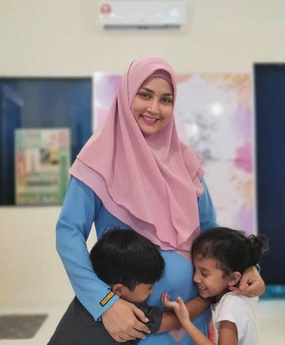 fasha sandha sakit ketika hamil
