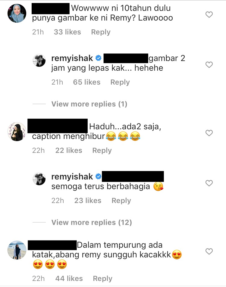remy ishak tanpa jambang