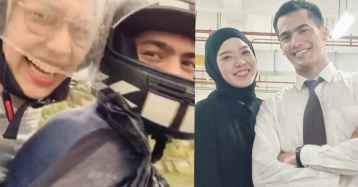 nonny nadirah niezam zaidi naik motorsikal tiada halal gap