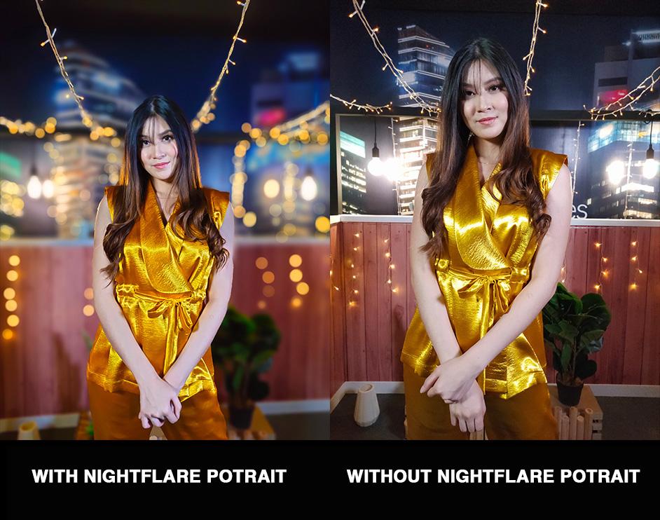 night flare potrait