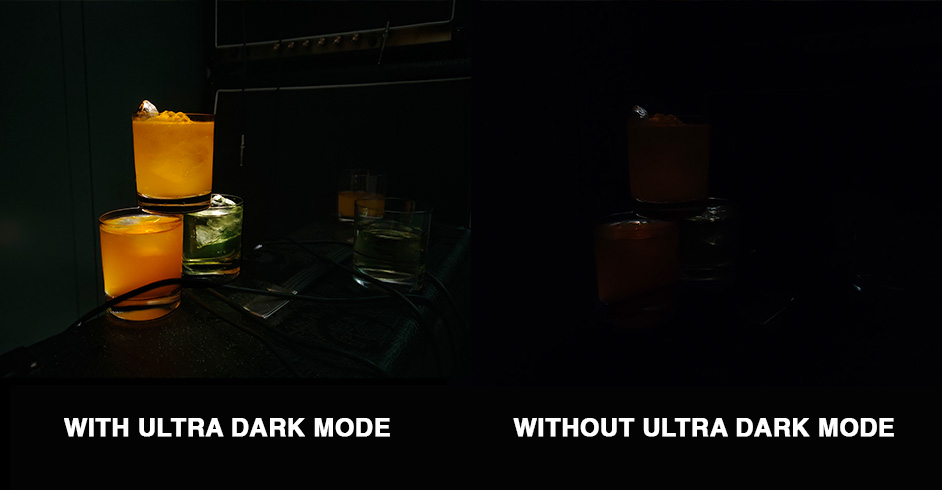 ultra dark mode