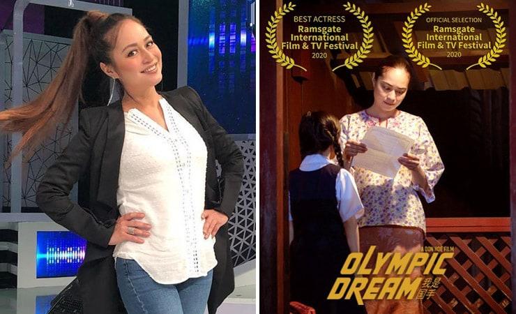 maya karin menang anugerah Pelakon Wanita Terbaik Di Peringkat Antarabangsa