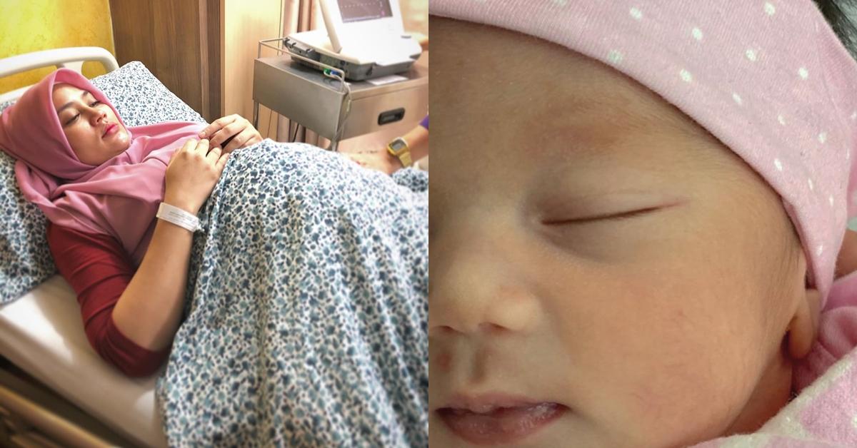fasha sandha selamat melahirkan anak