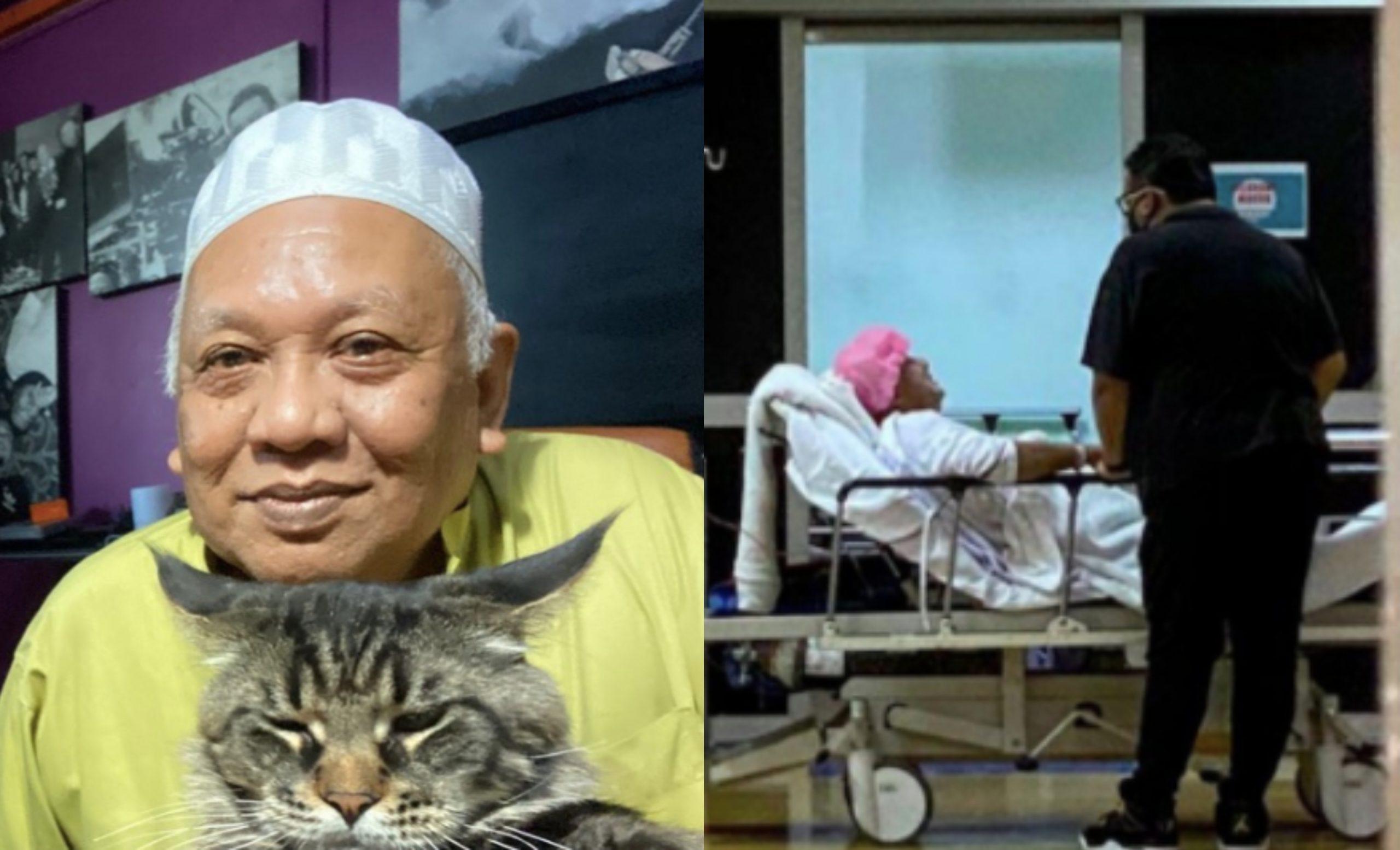 Bapa Afdlin Shauki Meninggal Dunia Selepas Pembedahan
