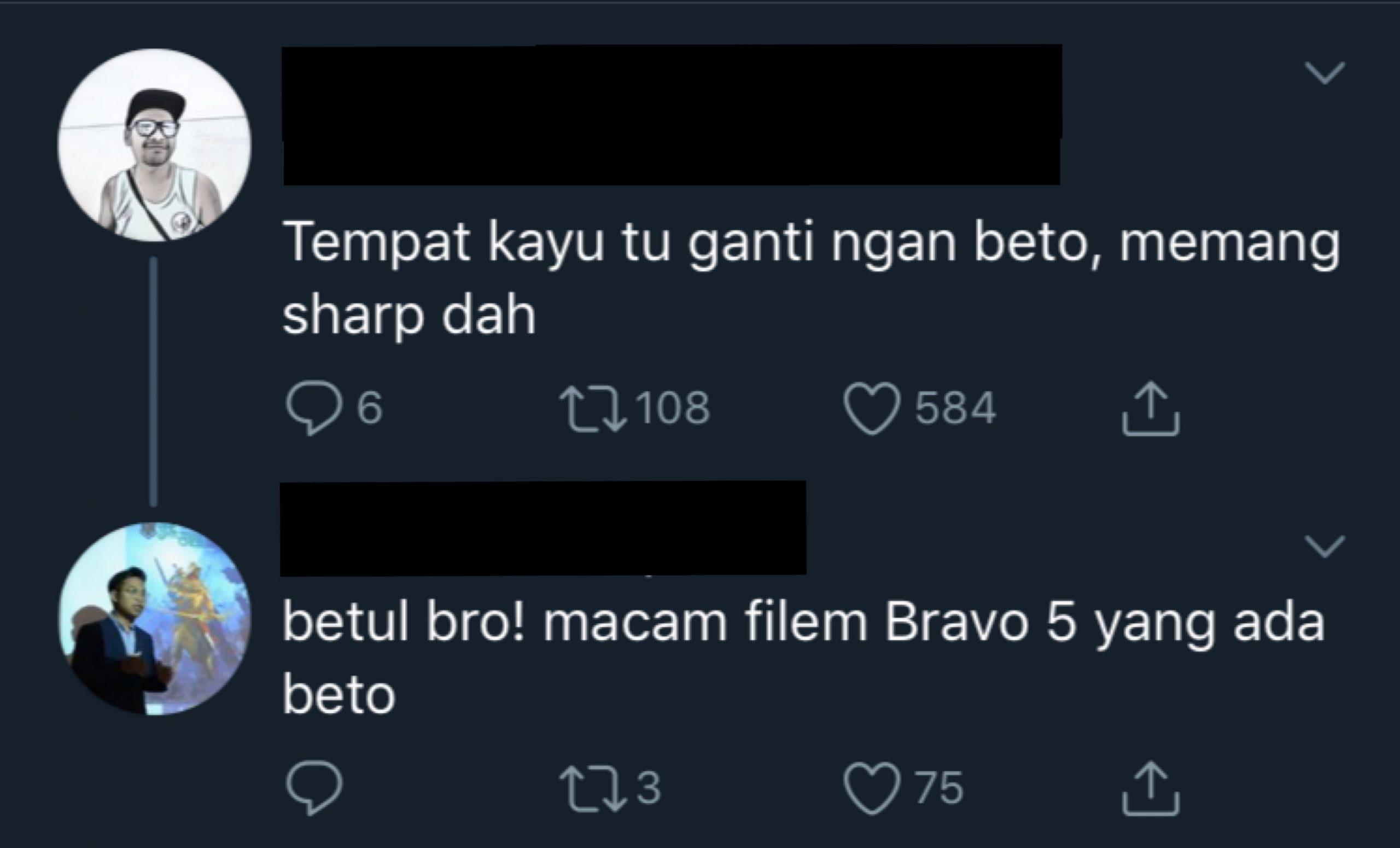 """""""Barisan Pelakon Hebat Tanah Air Bergambar Bersama Sebatang Kayu"""""""