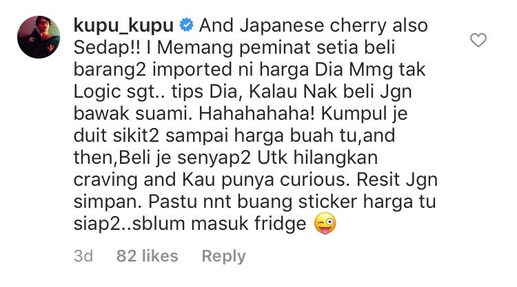 Nana Mahazan Teringin Nak Makan Anggur RM200 Sekilogram