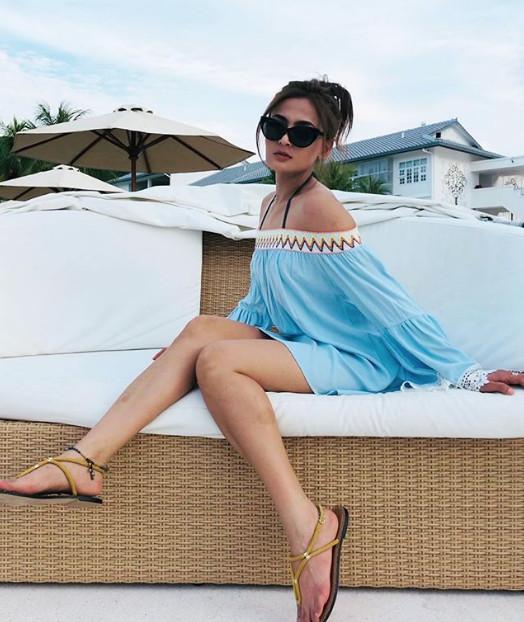 Suka Berpakaian Seksi, Reen Rahim Akui Tak Kisah Dikecam Netizen
