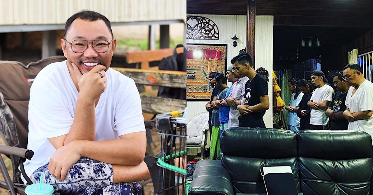 Pertama Kali Solat Berjemaah Di Set Penggambaran, Michael Ang Dedah Tiada Niat Nak Menunjuk