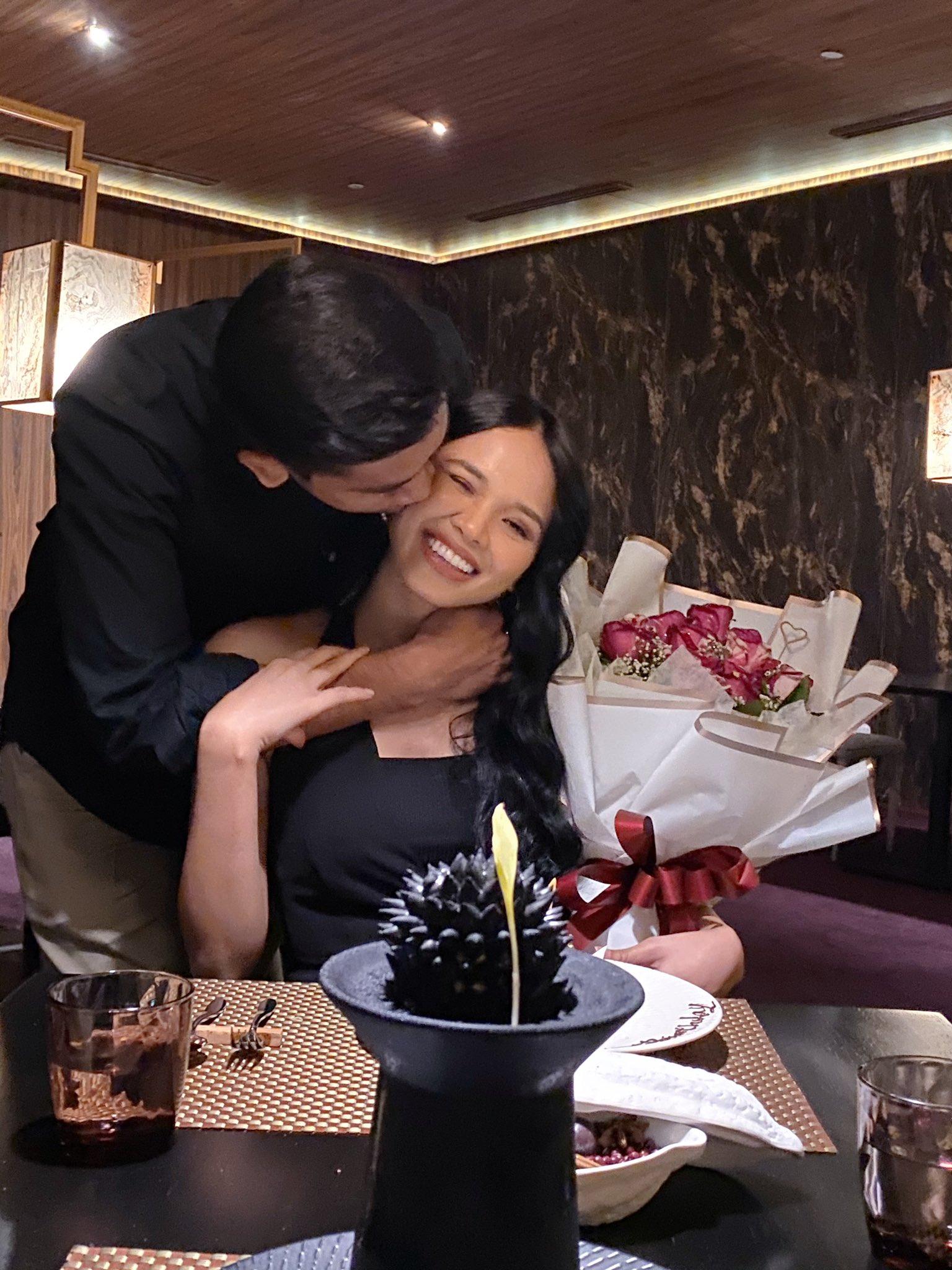 Kongsi Gambar Dicium Suami, Ain Edruce Buntu Dikecam Netizen