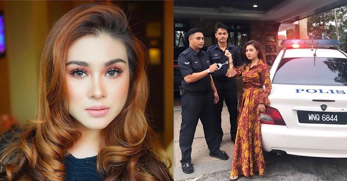 Netizen Pertikai Anggota Polis Pakai Selipar Ketika Bertugas, Risteena Munim Tampil Mohon Maaf