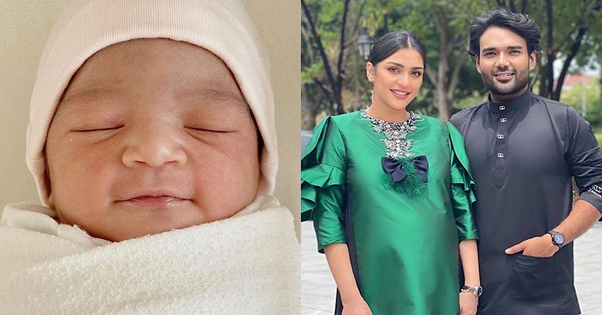 (TAHNIAH) Isteri Pereka Fesyen Rizman Nordin Selamat Lahirkan Bayi Perempuan
