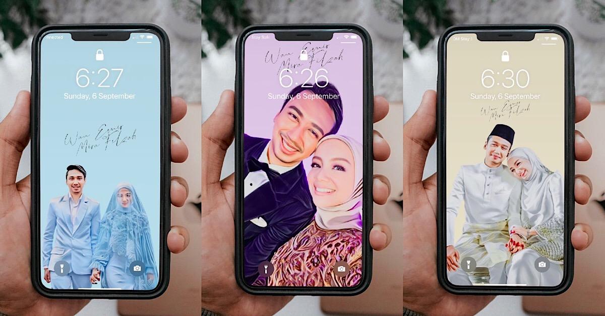 Makin Digilai, Peminat Jadikan Gambar Majlis Kahwin Mira Filzah Sebagai Wallpaper Handphone