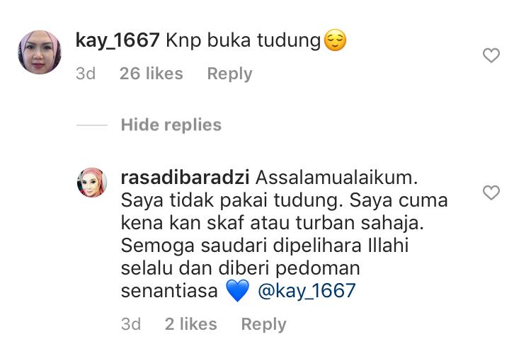 Ras Adiba Radzi Buka Tudung Selepas Dilantik Jadi Senator?