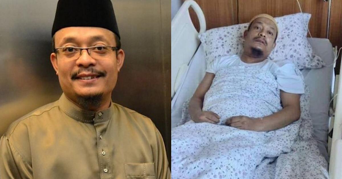 Alami Masalah Keseimbangan Badan, Ustaz Kazim Elias Dikejarkan Ke Hospital Sekali Lagi