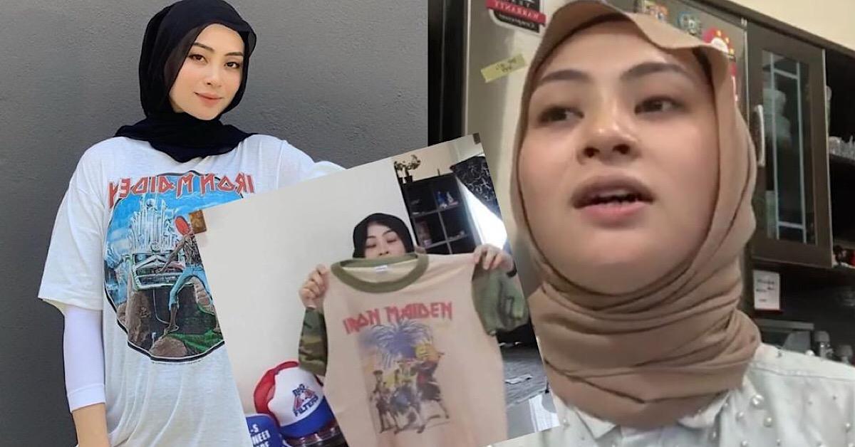 Didakwa Jual Baju Iron Maiden Tiruan, Adira Suhaimi Tampil Beri Kenyataan