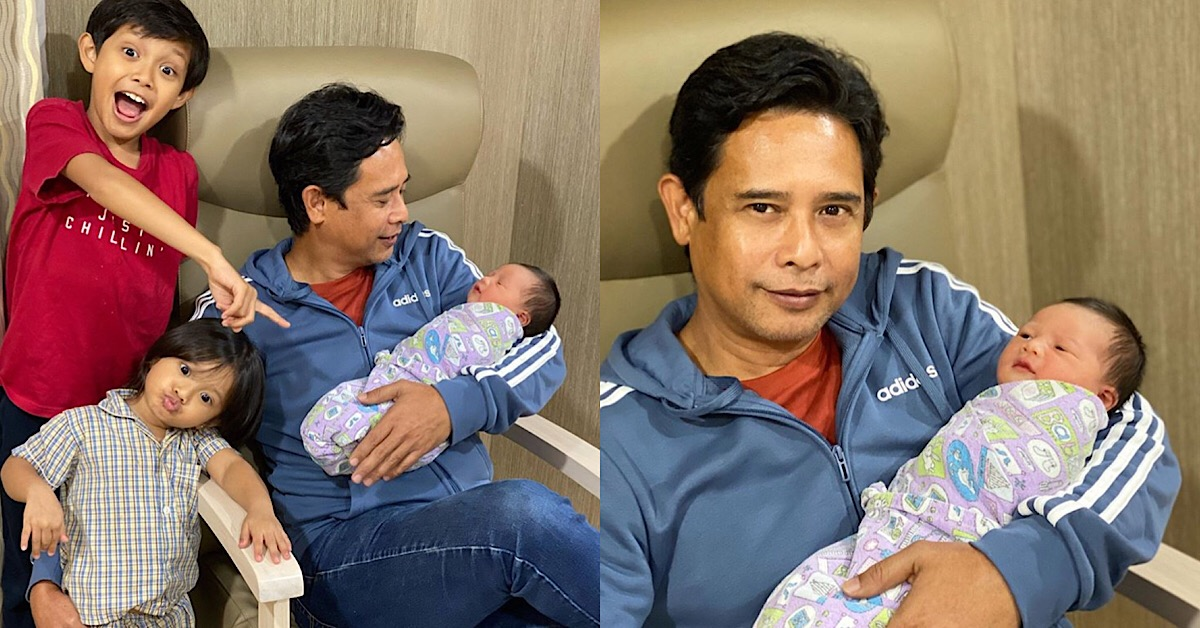 (TAHNIAH) Diana Rafar, Zamarul Hisham Selamat Timang Anak Ketiga
