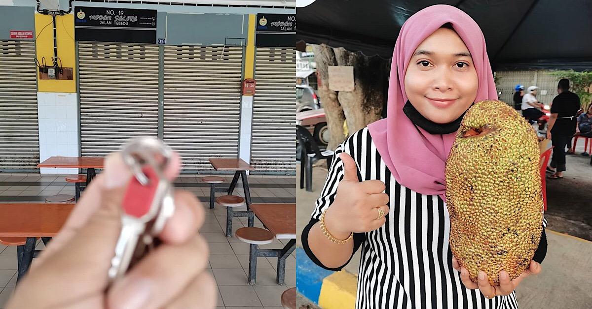 Berkat Titik Peluh Berniaga Cempedak Goreng Tepi Jalan, Hidayah Syukur Kini Miliki Kedai Sendiri