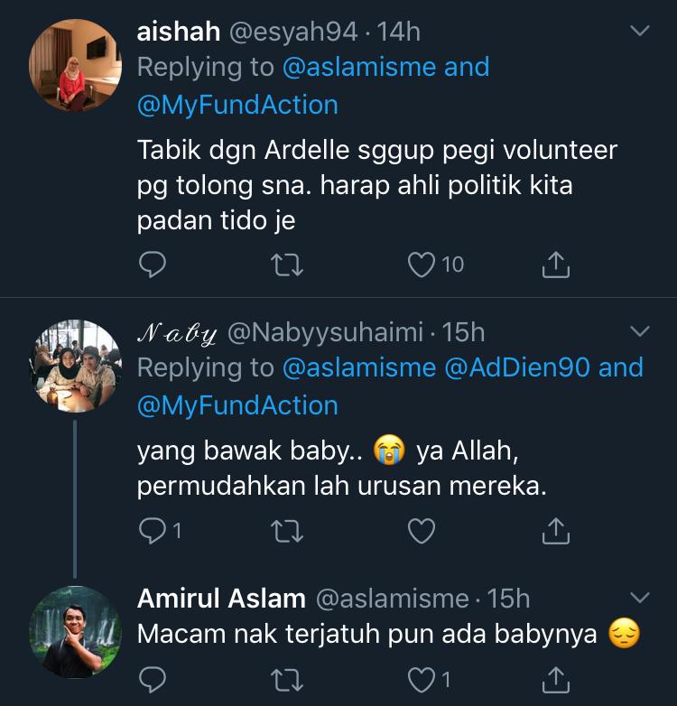 Netizen Sebak Lihat Pengorbanan Ardell Aryana Bantu Penduduk Di Sabah 5